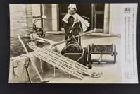 (乙4600)二战史料《读卖新闻老照片》1张 烧付版 1944年3月26日 日本防控协会推荐的防空器材 黑白历史老照片 二战时期老照片 读卖新闻社