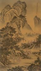 国家一级美术师 庞国华先生临摹故宫博物院珍品《聘庞图》