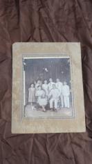 60年代左右华侨一家三代人合家照老照片一张19100706长35*宽28(cm).