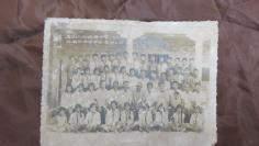 78年福建惠安东园公社锦锋小学毕业照老照片一张 19100732