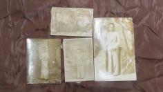民国华侨青年少女老照片4张 19100733