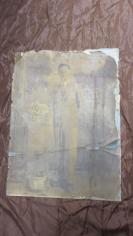 民国青年老照片一张,大张(长61*宽45(cm).  19100721