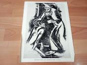 20世纪初照相版《浪子回头》(DER VERLORENE SOHN)—德国出版的《艺术著作》第四册,选自克里斯蒂安·罗尔夫斯的木刻版画—纸张尺寸32.5*24.5厘米