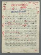 原中国影协书记处书记、曾任《电影艺术》主编 于敏 1990年手稿《在文联纪念<讲话>座谈会上的书面发言》一份十页(多处有校改) HXTX303201