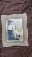 近民国华侨青年老照片一张19100761