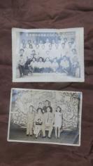 1975年蔡景辉结婚暨亲留影纪念老照片1971年香港北角道结婚照老照片2张19100790