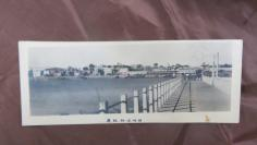 1960年厦鼓轮渡码头手工上彩老照片一张19100789