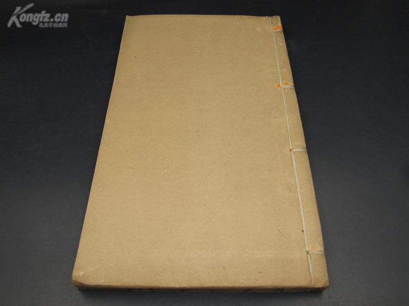 【原订原册 很厚】8022清木活字本 朝宗书室 《 明史纪事本末》  厚册  万年红书衣  保存的相当好