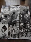 老照片【80年代,人物艺术照片,9张】大尺寸
