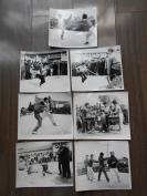 老照片【80年代,乡村武术表演,照片7张】