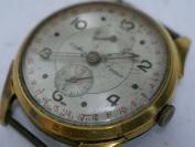 美国回流,《瑞士镀金AZMAR表,不走,表盘划痕》