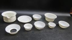 德化白瓷超薄茶具9个19102330少个盖