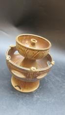 古典精典款式瓷油灯一个19102114