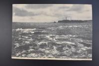 (乙5433)《黑潮は招く犬吠岬》宣传海报1张 单面 犬吠埼灯塔是明治初期建设的五座欧式灯塔之一,日本最古老的灯塔之一,也是日本最高的砖结构灯塔。灯塔和镜头在二战期间被毁,后来修复。东京日日新闻 1934年
