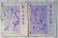禽鸟画选集(一、二)晒图本