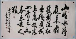 中国书法艺术家协会副主席【米南阳】书法