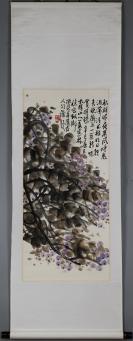 杭州画院院长 享受国务院特殊津贴【姜宝林】花卉