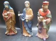 中世纪海上丝绸之路的阿拉拍人物陶瓷3个191110701