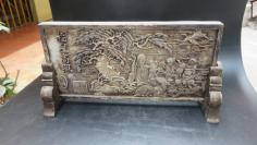 福星高照   百福字图,雕花摆件一个191110722