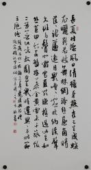 北京书法家协会理事【方放】书法