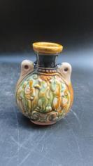 精美雕人物三仙瓷瓶一个191110754