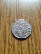 新加坡 银光海马币 10分 1968年