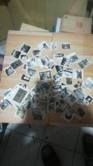 一堆老黑白照片