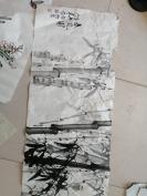 周大贵 中国书画家协会常务理事 国画(50cm/175cm) 保真