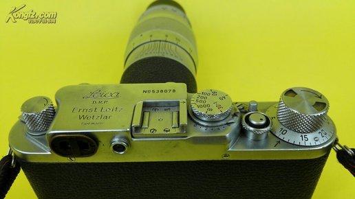 1935年莱卡相机加300镜头,品相98成新