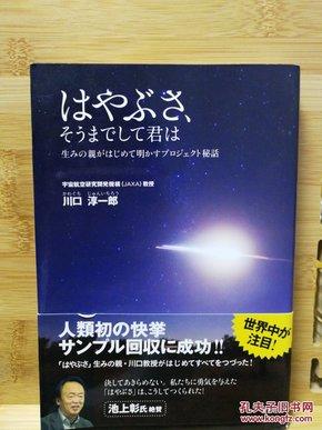 日文原版 32开本 はやぶさ、そうまでして君は〜生みの亲がはじめて明かすプロジェクト秘话(日本宇宙开发)(店内千余种低价日文原版书)
