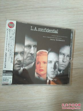 进口CD 绝版 电影原声 洛城机密
