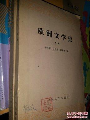 欧州文学史(上下卷共2册)