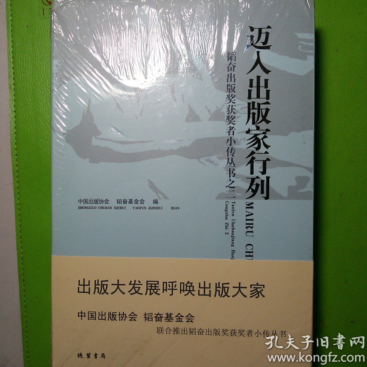 韬奋出版奖获奖者小传丛书之一    迈入出板家行列