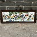 古玩古董景德镇陶瓷板画  客厅装饰画挂屏画 童子嬉戏