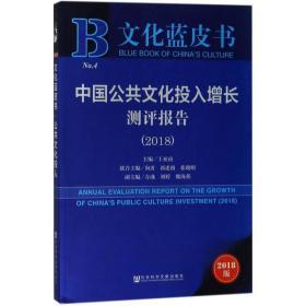 中国公共文化投入增长测评报告(2018)