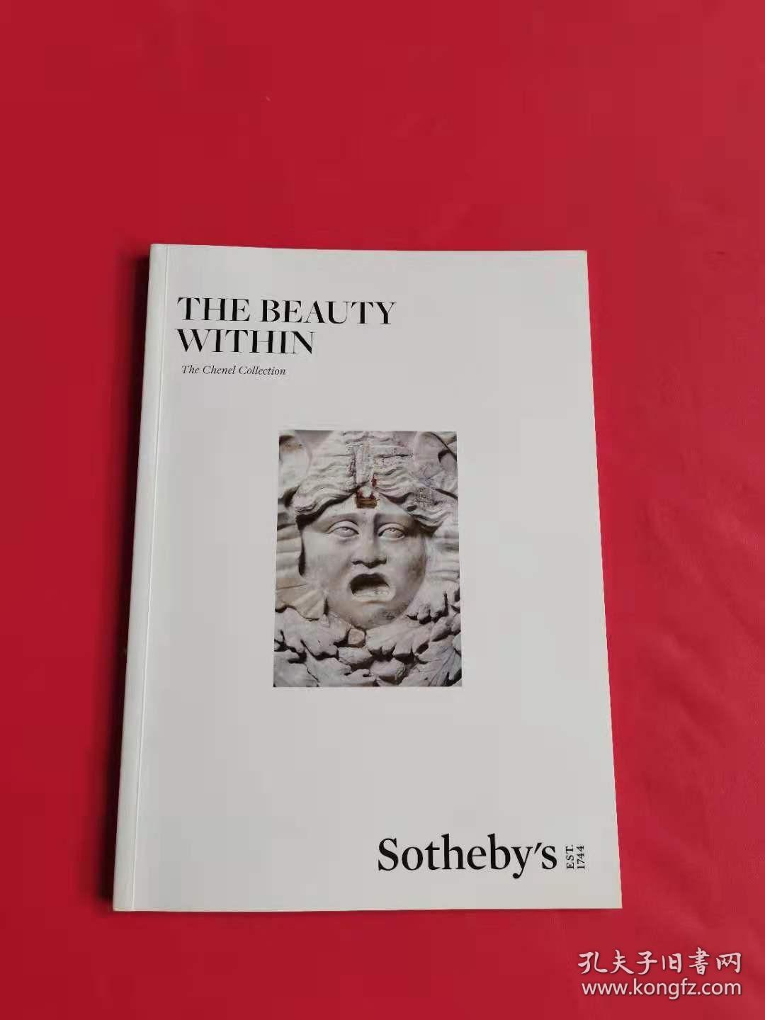 SOTHEBY`S苏富比 2020年  LONDON THE BEAUTY WITHIN The Chenel Collection