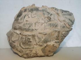 中国名石--陈炉奇石(奇石名:汉代画像图;总之:看着像什么,友自己定吧);图案石