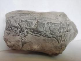 中国名石--陈炉奇石(奇石名:老鼠嫁女;总之:看着像什么,友自己定吧);图案石