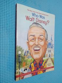 Who Was Walt Disney?谁是沃尔特·迪斯尼? 英文原版
