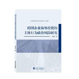 跨国企业海外投资的主体行为政治风险研究  何金花 著 武汉大学出版社