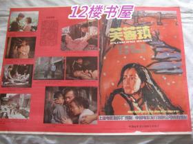 彩色宽银幕故事片-芙蓉镇 上下集(完成台本)和2开电影海报一张 同售