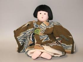 孤品!一代宗师舞蹈家闲崎秀女亲手制作男童日本人形(执行启子旧藏)