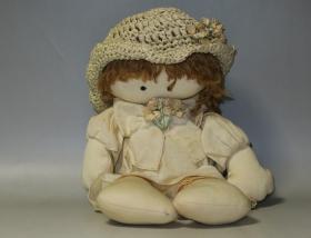 世界独一无二!布娃娃的最高境界—手工制作乡村娃娃(Country doll)