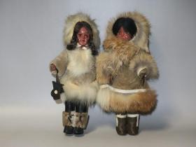 皮毛人形代表作—爱斯基摩女孩(双人套装)