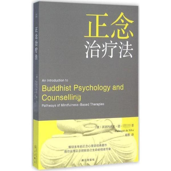 正念治疗法派德玛西里·德·席尔瓦漓江出版社9787540777302体育