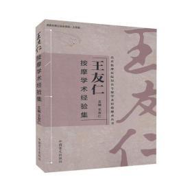 王友仁按摩學術經驗集 大字版王友仁9787500293231中國盲文出版社工程技術