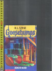 【优惠特价】原版英语故事书 Goosebumps --Monster Blood / R.S.Stine【店里有许多英文原版小说欢迎选购】