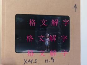 老照片 非常罕见的柯达早期彩色胶片 大概五十年代前后 儿童 11张