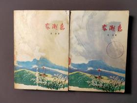 春潮急(上下册)文革书籍