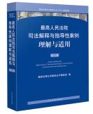 最高人民法院司法解释与指导性案例理解与适用(第九卷)